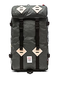 TOPO DESIGNS 22L Klettersack in Charcoal