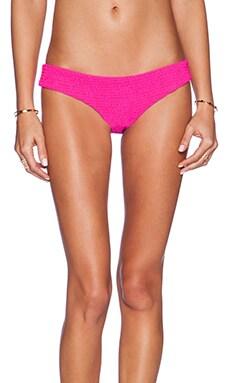 Tori Praver Swimwear Saffron Bikini Bottom in Pitaya