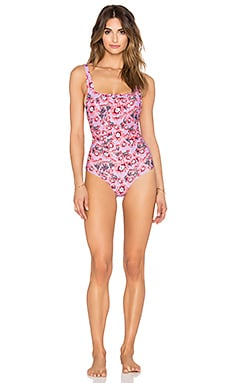 Tori Praver Swimwear Escondido Swimsuit in Cactus Flower Orchid