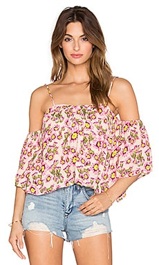 Flores Top in Cactus Flower Naked