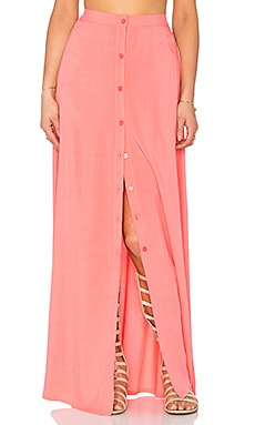 Tori Praver Swimwear Lala Skirt in Hibiscus