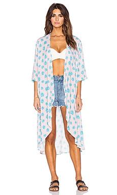 Tori Praver Swimwear Toluca Kimono in Wild Agave Kimono
