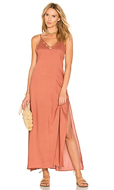 Kora Maxi Dress in Spice