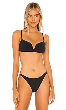 Poppy Rib Bralette Bikini Top Tori Praver Swimwear $99