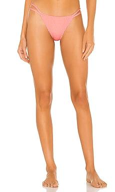 Mickey Smocked Bikini Bottom Tori Praver Swimwear $89 NEW ARRIVAL