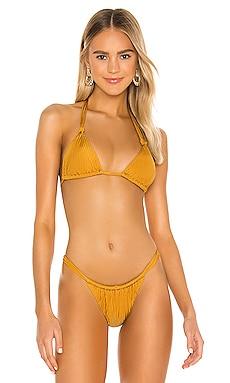 Matty Triangle Bikini Top Tori Praver Swimwear $99