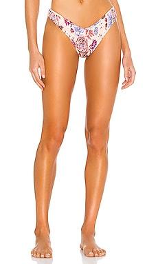Sly High Leg Cheeky Bikini Bottom Tori Praver Swimwear $70