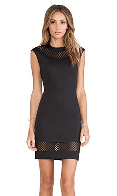 Torn by Ronny Kobo Morgan Dress in Black