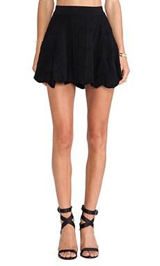 Torn by Ronny Kobo Rae Skirt in Black