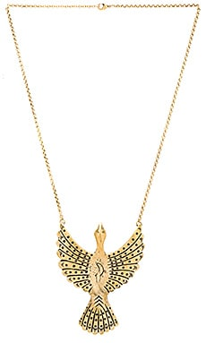 Alulquoy Necklace en Brass Ox