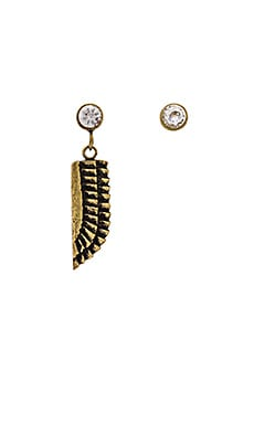 Sky Goddess Earrings en Brass Ox