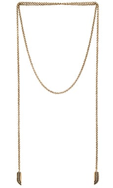 Sky Goddess Necklace en Brass Ox