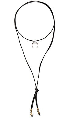 TORCHLIGHT Crescent Bolo in Silver Ox