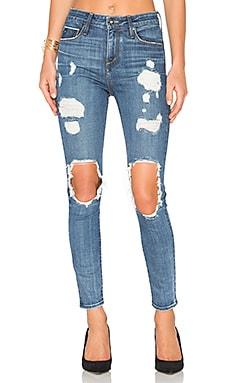 Shiko High Waist Open Knee Skinny