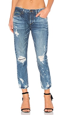 Savanna Distressed Skinny in Dark Starry Night