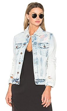 Steppe Denim Jacket in Light Indigo