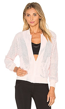 Touche LA x MORGAN STEWART Brendan Bomber Jacket in Pink