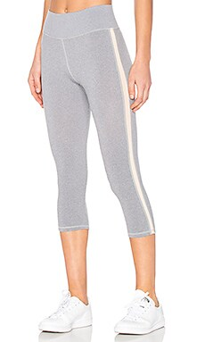 x MORGAN STEWART Jayne Legging in Grey & Blush