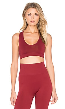 Grace Sports Bra in Currant