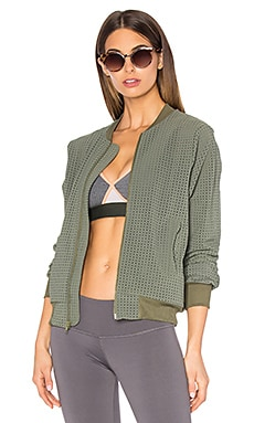 TOUCHE x MORGAN STEWART Brendan Bomber Jacket in Olive