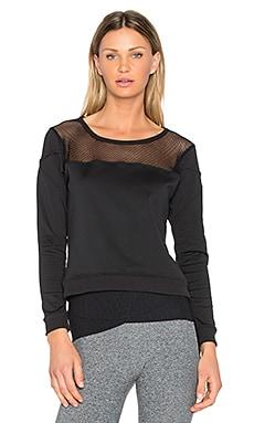 Mesh Panel Sweatshirt