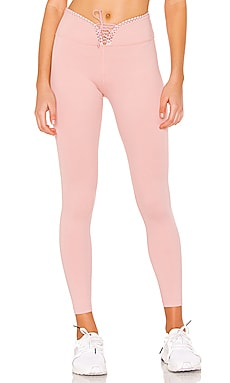 Cloud Nine Reversible Legging Track & Bliss $52