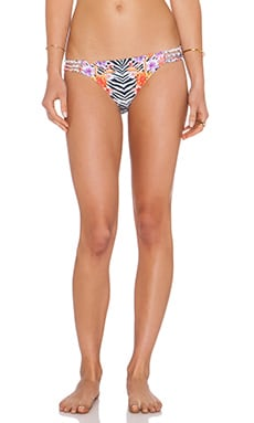 Trejoa Braided Bikini Bottom in Print G