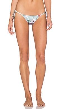 Trejoa Tie Side Bikini Bottom in Optical Flower