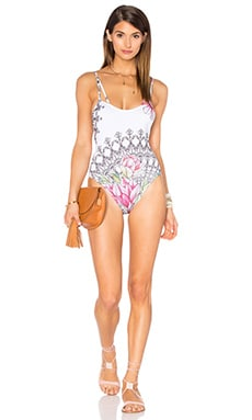 Double Strap One Piece en Buzios White