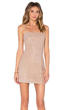 TROIS Stephanie Dress in Dusty Pink
