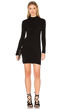 TROIS Campbell Dress in Black