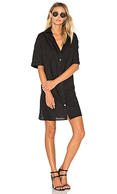 TROIS Hunter Dress in Black