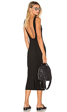 Klum Midi Dress in Black