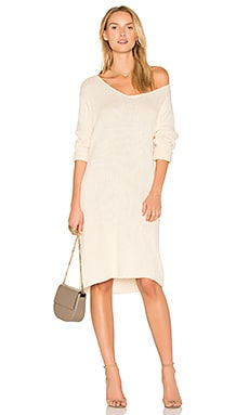 Daria Knit Dress in Bone