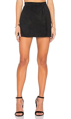 TROIS Yasmeen Wrap Skirt in Black
