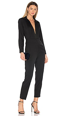 Newton Jumpsuit in Schwarz