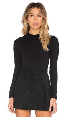 TROIS Jodie Bodysuit in Black