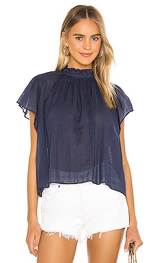 Carla Shirt Birds of Paradis by Trovata $143