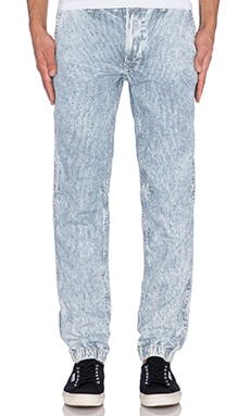 True Religion Trooper Pant in Indigo Railroad Stripe