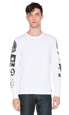 True Religion German Capsule Tee in White