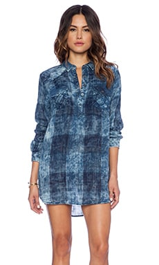 True Religion Georgia Dress in Indigo