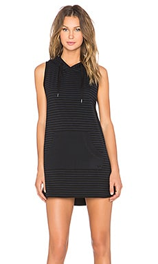 True Religion Striped Hoodie Dress in Ace Stripe