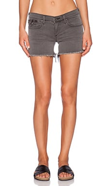 True Religion Keira Low Rise Short in Grand Ave