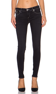True Religion Casey with Flap in Tarmac Black