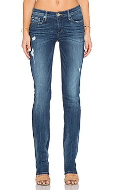 True Religion Cora Straight in Slate Blue