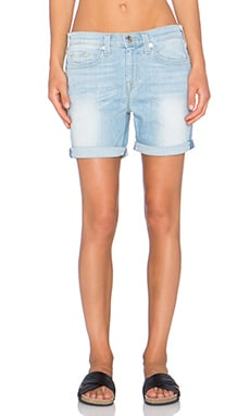 True Religion Nu Boy Short in Powder Blue Lagoon