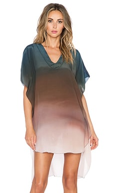 TRYB212 Jackie Tunic Dress in Hand Painted Ombre