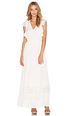 TRYB212 Holden Maxi Dress in Ice White