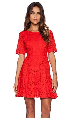 TRYB212 Pixie Dress in Poppy Red