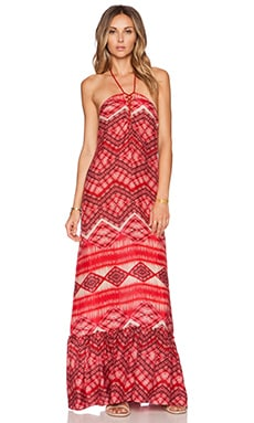 TRYB212 Dorothy Maxi Dress in Lipstick